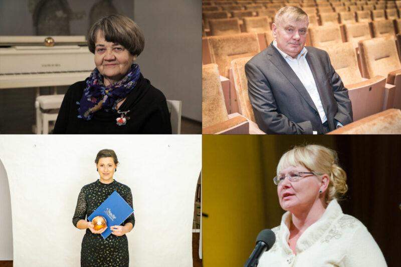 KulKa laureaadid 2021, fotod Toomas Tuul, Tiit Mõtus, Merily Malkus, Eesti Kultuurkapital